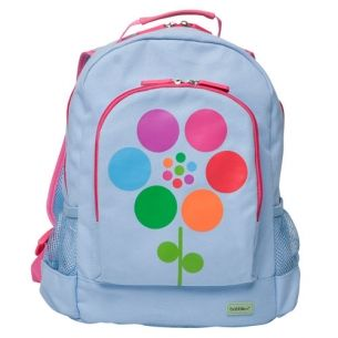 Large Canvas Backpack - Flower  #limetreekids