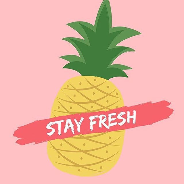 Stay #fresh Dress up your tech today with this new #fruity iPhone wallpaper (download link in bio) . . . . . #homescreen #wallpapers #wallpaper #background #lockscreen #iPhone #iPhone7 #iPhone6 #Apple #design #quote #lifequote #quoteoftheday #tech #quotestoliveby #words #fruit #pineapple