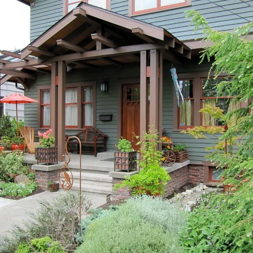 25 Great Porch Design Ideas: Best 25+ Craftsman Front Porches Ideas On Pinterest