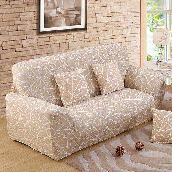 Sofa Cover Floral Line Sunailoom In 2020 Slip Covers Couch Couch Covers Arm Chairs Living Room