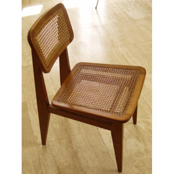 Chaise modèle C cannée design vintage - cote argus - Price for Design