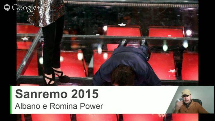 Albano e Romina Sanremo 2015 Ospiti - Flessioni e Battute