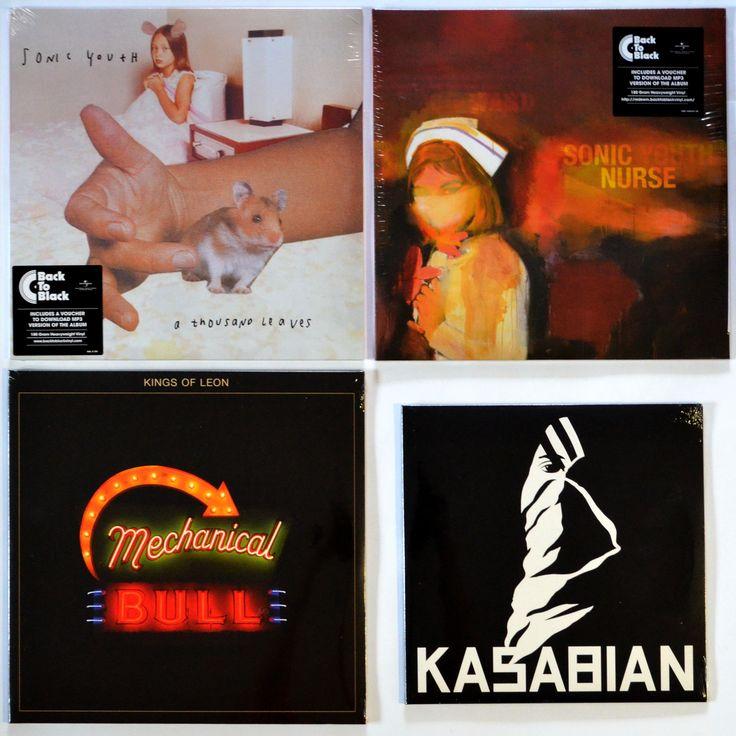 Sonic Youth - ''A Thousand Leaves'' (DGC,  UK & Europe , 2016) (5/5) - 1075 грн. Sonic Youth - ''Sonic Nurse'' (DGC,  Europe , 2016) (5/5) - 985 грн. Kings Of Leon - ''Mechanical Bull'' (RCA,  US , 2013) (5/5) - 895 грн. Kasabian - ''Kasabian'' (RCA,  Europe , 2014) (5/5) - 895 грн. #NoiseRock  #IndieRock  #diskultura #kyiv #kiev #киев #київ #kyivshop #vinyl #винил #пластинки