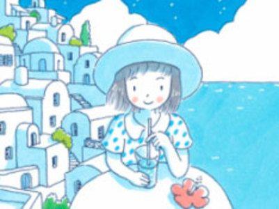 【完結&お試し読み】コマツシンヤのウェブ漫画(コミック)『8月のソーダ水』。翠曜(すいよう)岬の昼下がり、今日もとてものどかで静かです。海辺の街に住む女の子・海辺リサの周りはいつも不思議なできごとに溢れています。新鋭・コマツシンヤが贈る総天然色マンガ!/ぽこぽこ掲載タイトルはすべて無料です♪