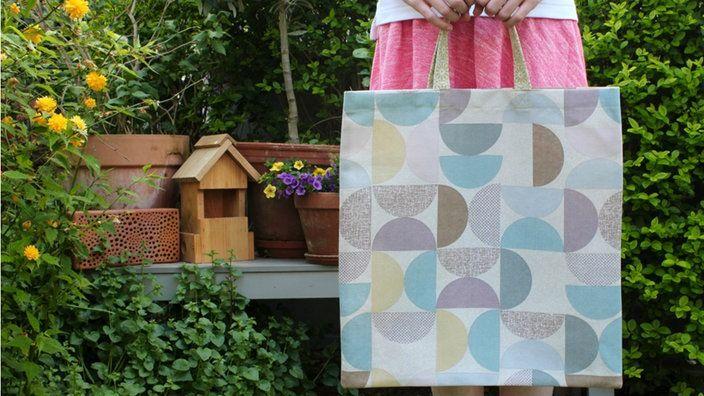 einkaufstasche selber n hen freebook shoppingbag diy pinterest einkaufstaschen h ndchen. Black Bedroom Furniture Sets. Home Design Ideas