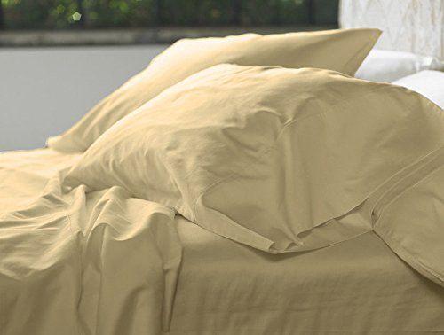 Ultra Soft & Exquisitely Smooth Genuine 100% Plush Cotton 800 TC Sheet Set by Pure Linens, Lavish Sateen Solid, 5 Piece Split King (Adjustable Bed) Size Deep Pocket Sheet Set, Linen //http://bestadjustablebed.us/product/ultra-soft-exquisitely-smooth-genuine-100-plush-cotton-800-tc-sheet-set-by-pure-linens-lavish-sateen-solid-5-piece-split-king-adjustable-bed-size-deep-pocket-sheet-set-linen/