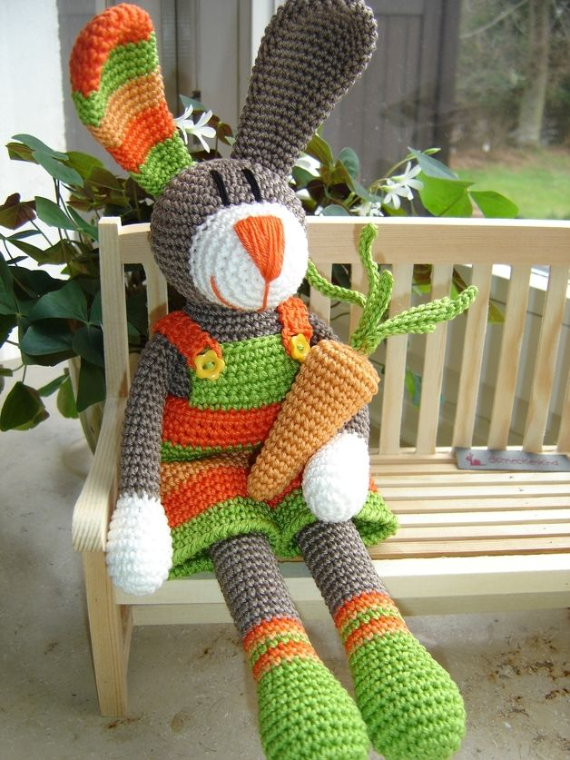 Sören, crochet Bunny ♥