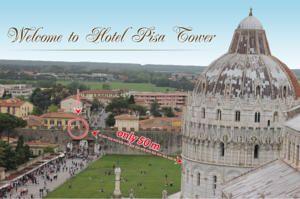 Hotel Pisa Tower
