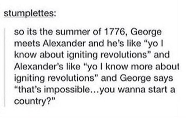Hamilton meets Drunk History of Fall Out Boy this here is my new favorite thing