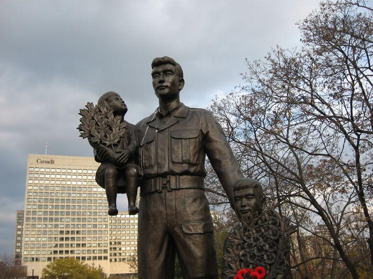 Korean War Monument to Canadian Fallen, Ottawa