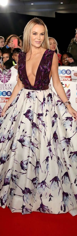 Amanda Holden The Pride Of Britain Awards 2017: #Celebrity #RedCarpet arrivals