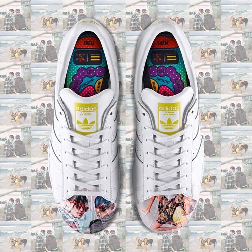 adidas Todd James Supershell Superstar Shoes - White | adidas US