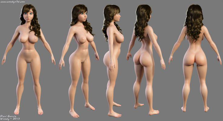 3d голые девушки фото