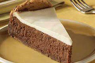 Velvet Chocolate Cheesecake Recipe - Kraft Recipes. I plan to make this with low-fat cream cheese and splenda.
