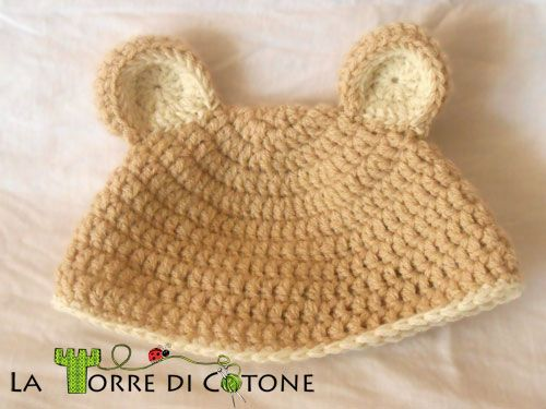 cappello-orsetto-11 Pattern: cappello da orsetto all uncinetto