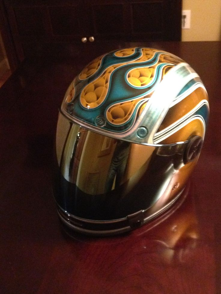 My Personal Helmet Bell Bullitt With Custom Paint By