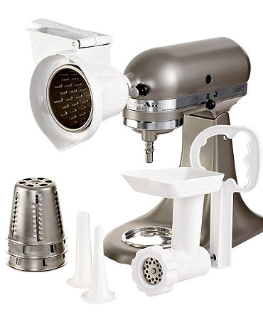KitchenAid KGSSA Stand Mixer Attachment, Gourmet Kit …