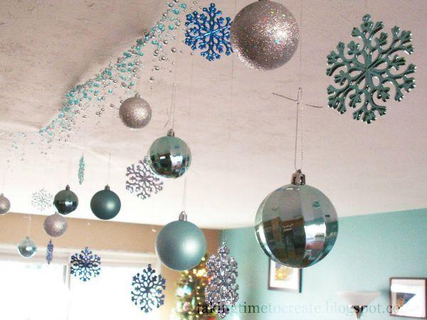 15 Christmas Ceiling Decorations To Make Christmas Special   Christmas Celebrations