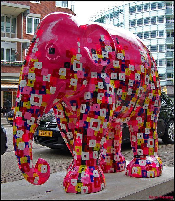 From Elephant Parade - Photo by Rene Mensen | Elephants ...
