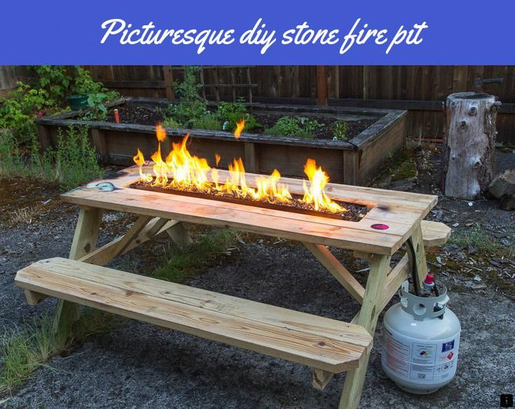 Look At The Webpage To Learn More On Diy Stone Fire Pit Click The