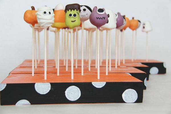 Cakepop Stands And Adorable Cake Pops I Cannot Wait For Halloween So