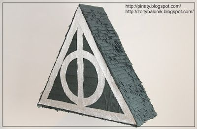 deadly hallows pinata harry potter