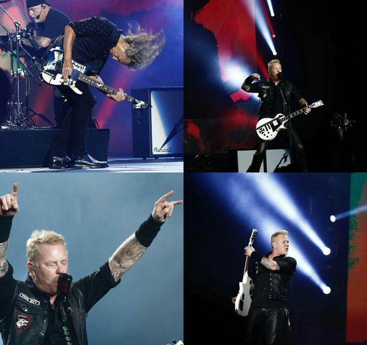 #Metallica performing at #Lollapalooza Brazil day 1 at Autodromo de Interlagos in Sao Paulo yesterday!