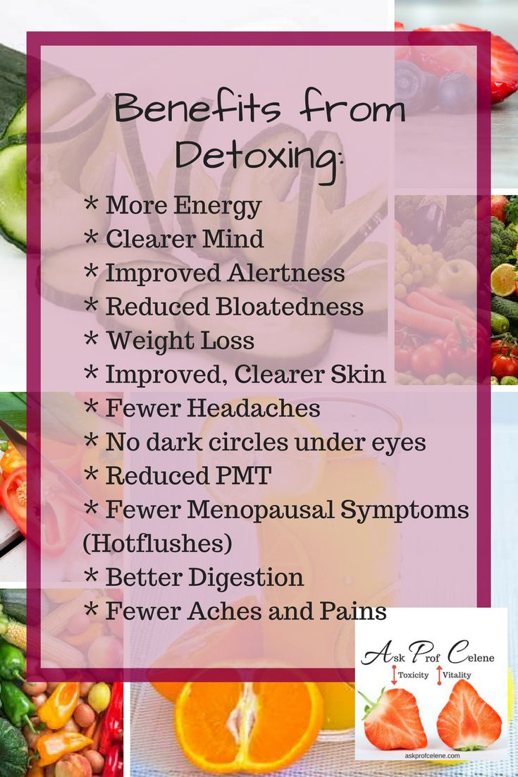 I don't want to twist your arm, but....  The Benefits speak for itself!!  Come on take the leap, I have the Perfect Detox for you.