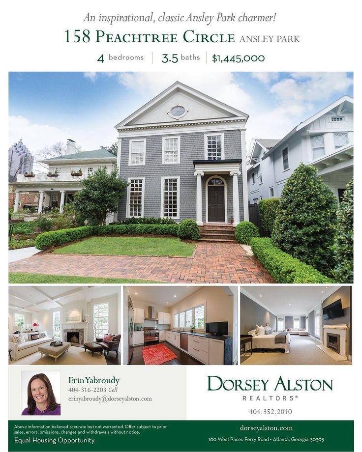 Open House | 158 Peachtree Circle | Ansley Park | Sunday May 28th | 1 - 3 PM  Newly staged and refreshed! Don't miss Sonny Jones and this beautiful historic home with excellent blending of original details and modern conveniences!  #EYA #dorseyalston #openhouse #ansleypark #historichome #intownatlanta #atlantarealtor #milliondollarlisting