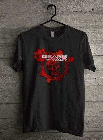 Gears of War 3 Red Skull Logo