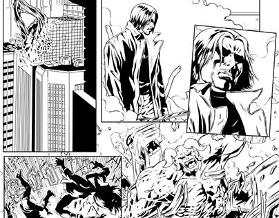 """Check out new work on my @Behance portfolio: """"Comic page #3"""" http://be.net/gallery/47695893/Comic-page-3"""