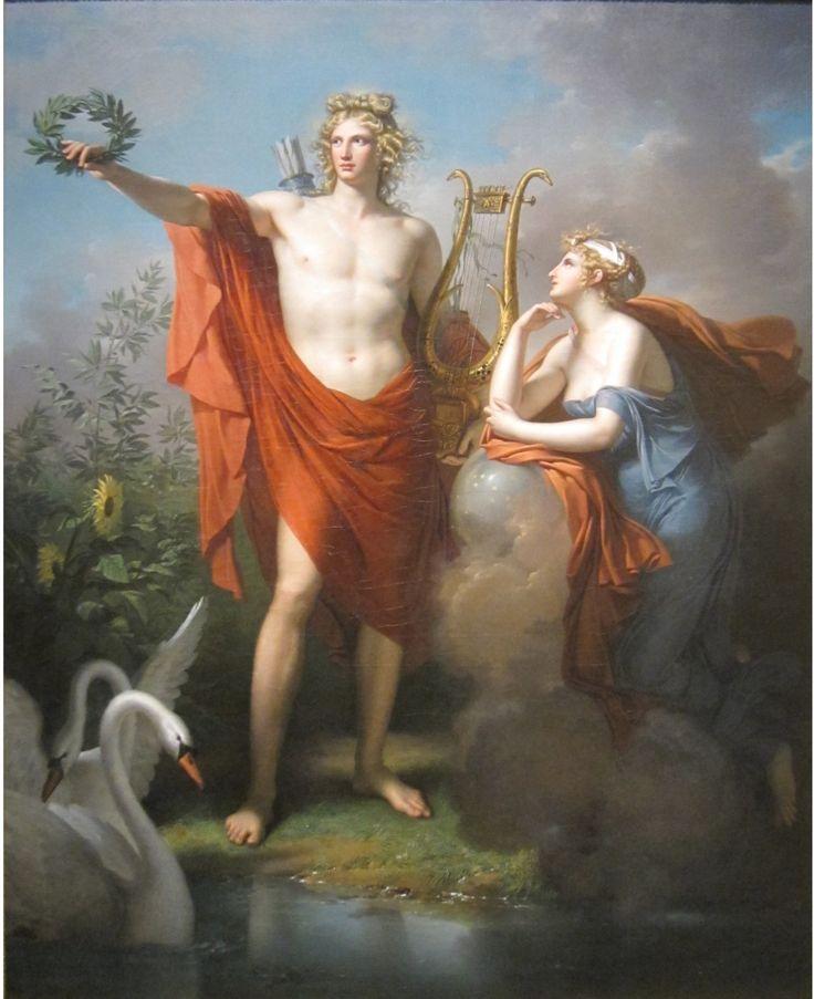 greek mythology in astronomy