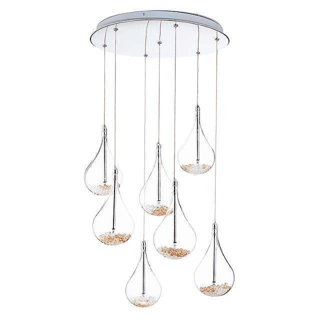 BuyJohn Lewis Sebastian 7 Light Drop Ceiling Light Online at johnlewis.com