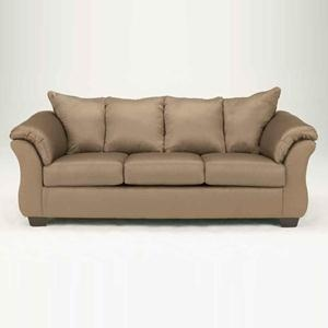 Nebraska Furniture Mart – Ashley Darcy Sofa in Mocha