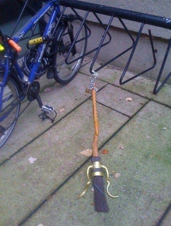 "Harry Potter's ""bike"""