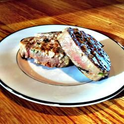 Grilled Jalapeno Tuna Steaks. Excellent, easy and low cal. Served with ...