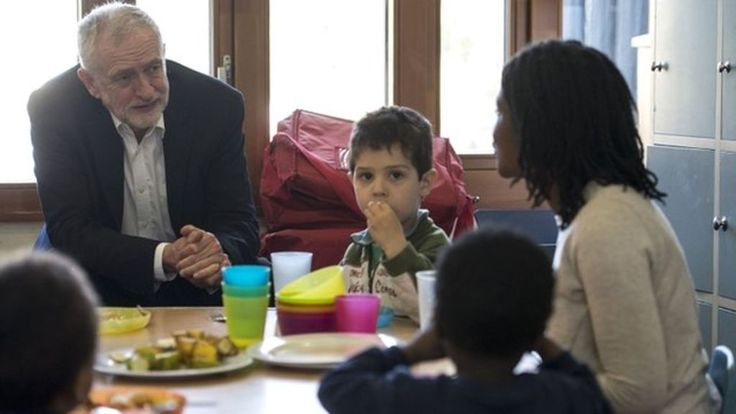 Corbyn promises free primary school meals for all The Labour leader says charging VAT on private school fees would pay for the measure.