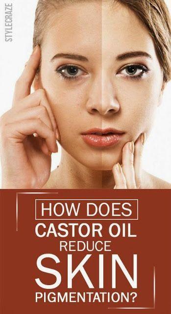 castor oil for face skin