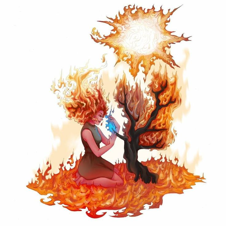 "20 likerklikk, 3 kommentarer – Sylphice (@sylphice) på Instagram: ""Muspelheim, the world of the fire giants, is done! In norse mythology, this is also where the sun…"""