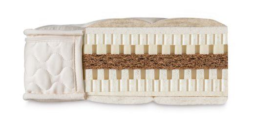 Colchón de látex y fibra de coco Natural Eco Plus