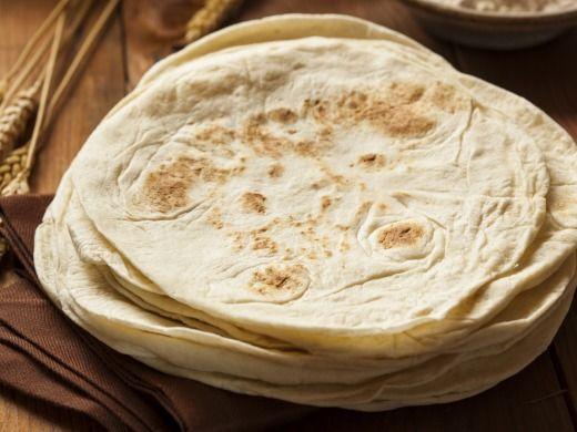 Domácí tortilly - Recepty na každý den