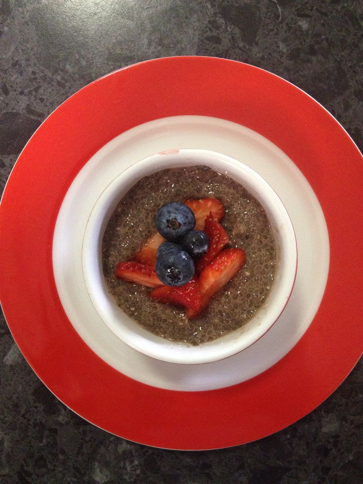 Choc Chia Pudding - So Easy and So Delicious.  Use almond or coconut milk as the base.
