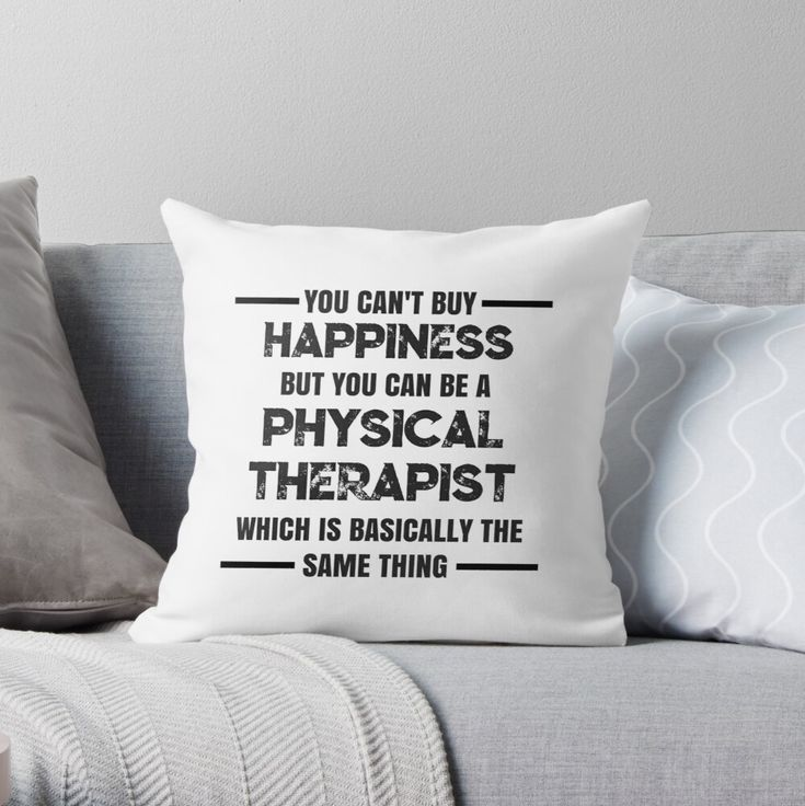 Funny Physical Therapy Love Design For Physical Therapists And Students Throw Pillow By Hopscotch Shop Designs In 2021 Throw Pillows Pillows Quote Throw Pillow