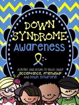 This is a useful resource for teaching elementary students about Down syndrome, friendship, and acceptance. This can be applied in October (Down syndrome Awareness Month) or on March 21st for World Down Syndrome Day (3/21 which represents three copies of the 21st chromosome).