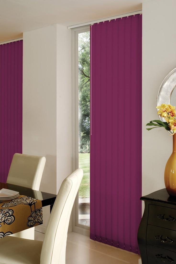 Replacement lapwing design blackout vertical blind slats in white or -  Vertical Blinds Uk Http Www Blindsuk Net