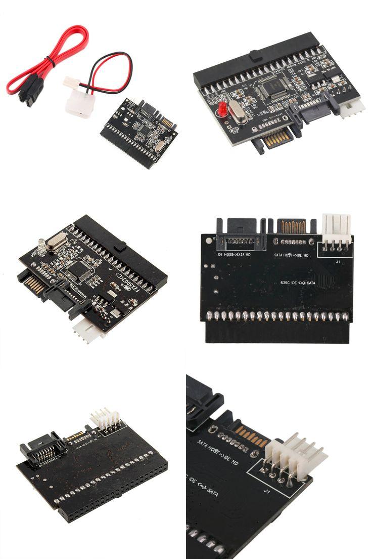 [Visit to Buy] Practical Black IDE To SATA Serial-ATA Bilateral HDD Adapter Converter Compatible With ATA 100/133 #Advertisement