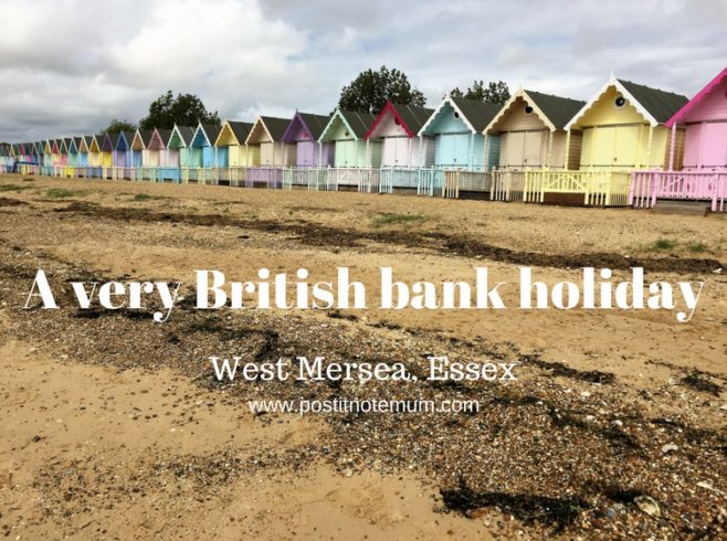 A very British bank holiday, West Mersea, Essex