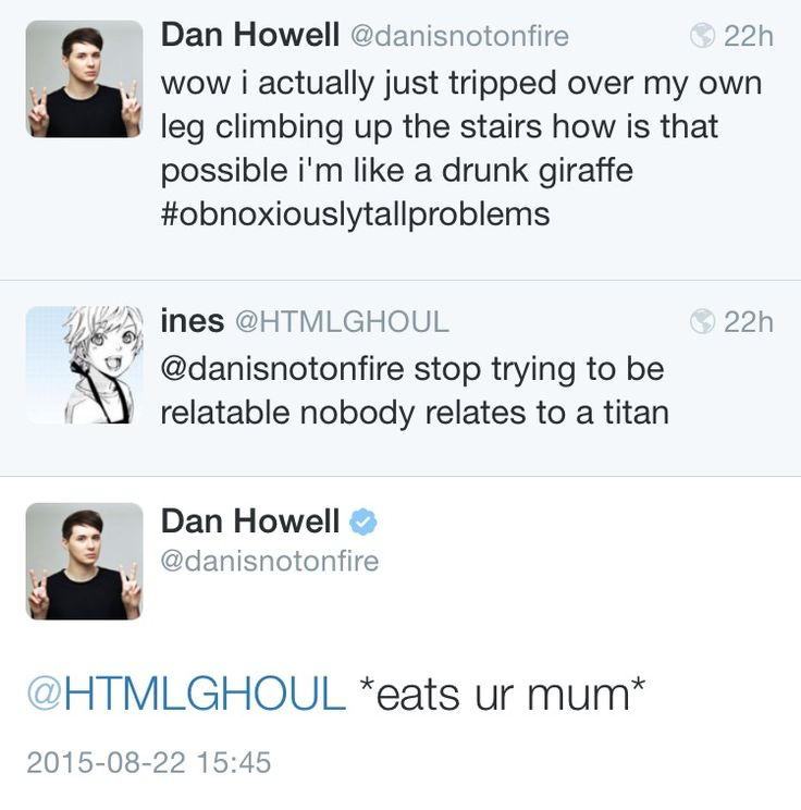 dan howell ✧ danisnotonfire
