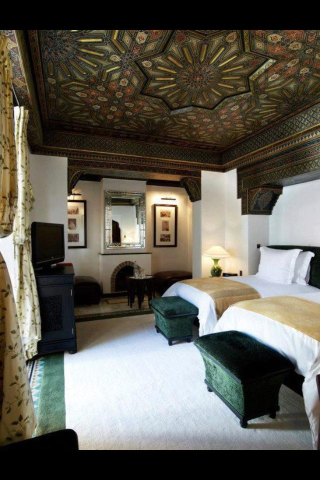 Its a moroccan fantasy the most seductive and luscious and exciting hotel in the world