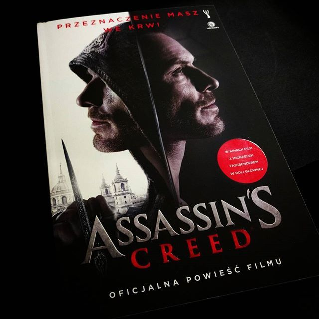 Pachnie nowością od @insignis_media . Przeczytam to podzielę się wrażeniami. #ksiazka #assassinscreed #book #instabook #bookstagram #reading #TwojaKulturaPL